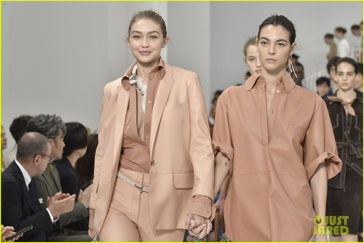 gigi and bella hadid strut their stuff in tods milan fashion week show2 234151325