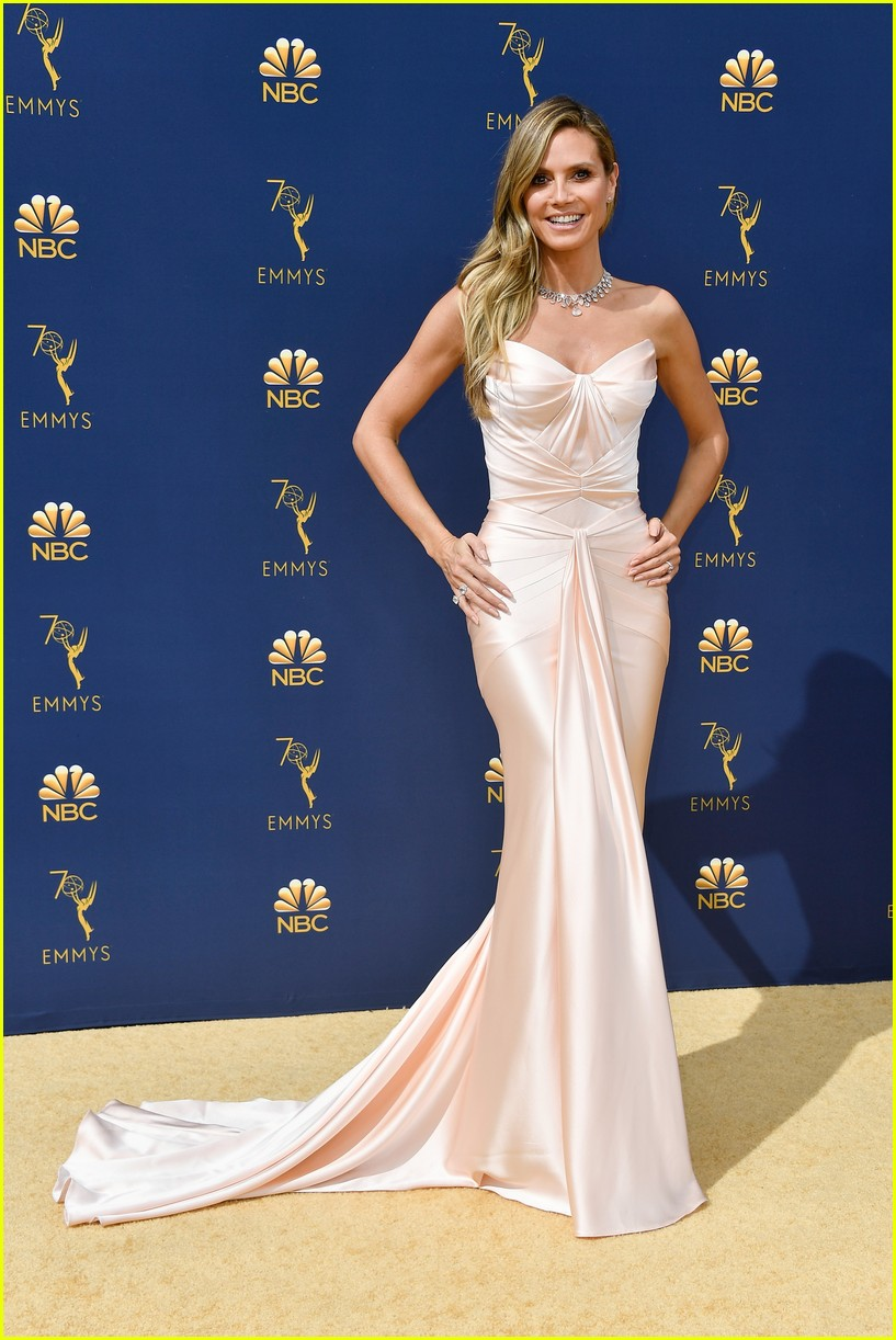 heidi klum tom kaulitz emmy awards 2018 064148367