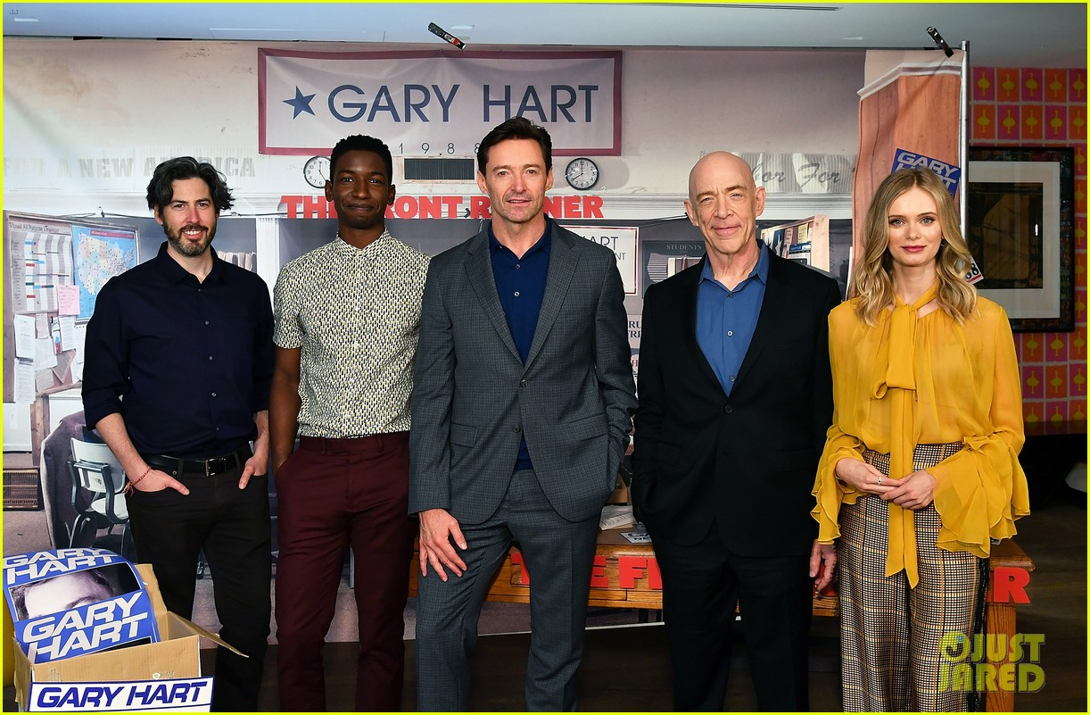 hugh jackman joins the front runner cast at nyc photo call 014152719