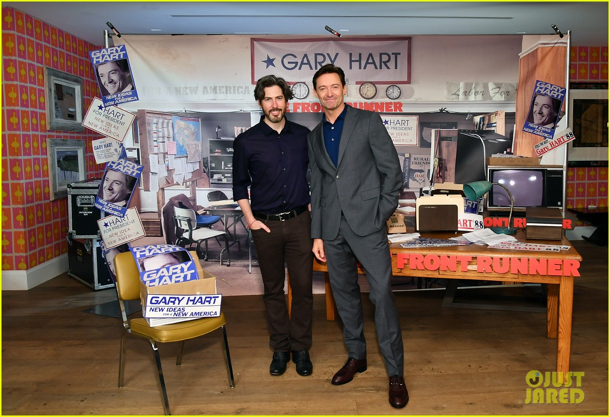 hugh jackman joins the front runner cast at nyc photo call 024152720