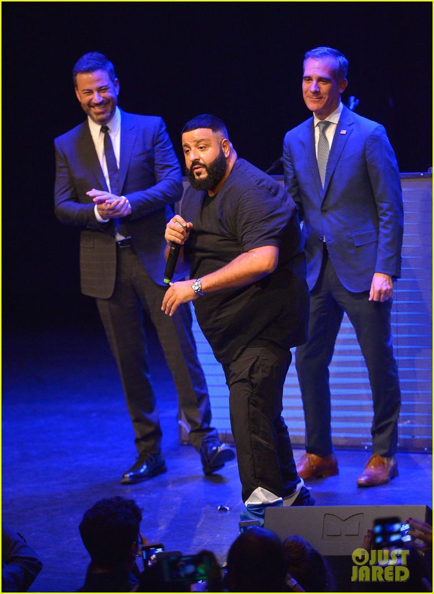 9b23e0da73bde0 DJ Khaled Gets Support from Mark Wahlberg at Air Jordan 3 Unveiling ...
