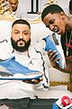 dj khaled gets support from mark wahlberg at air jordan 3 unveiling 09