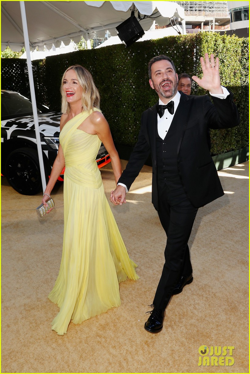 jimmy kimmel and james corden present at the emmys 2018 044148983