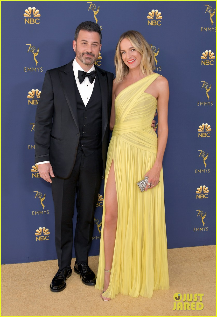 jimmy kimmel and james corden present at the emmys 2018 104148989