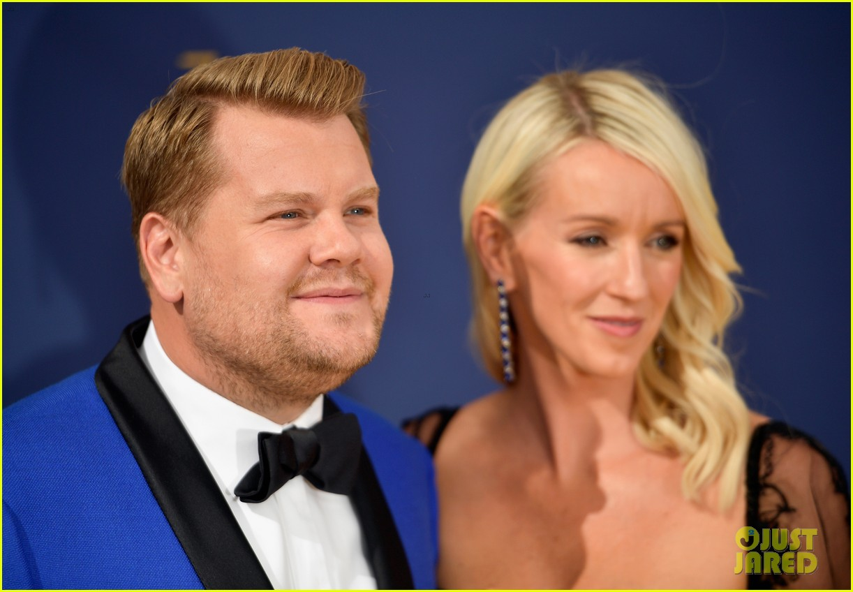 jimmy kimmel and james corden present at the emmys 2018 194148998