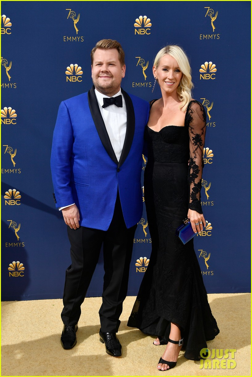 jimmy kimmel and james corden present at the emmys 2018 204148999