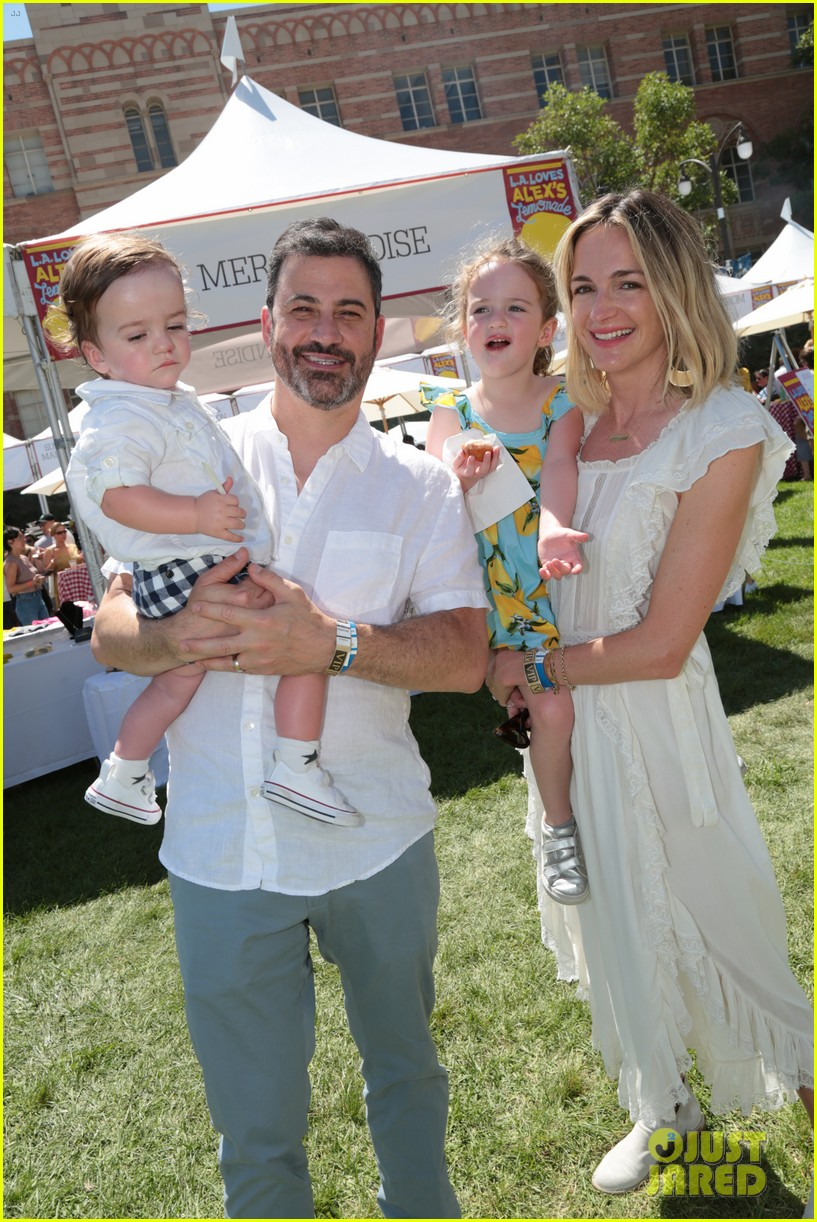 Jimmy Kimmel & Wife Molly McNearney Bring Their Adorable