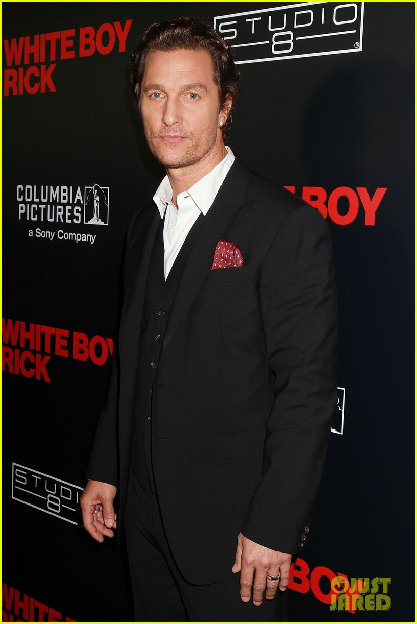 matthew mcconaughey richie merritt buddy up for white boy rick premiere 164145613