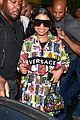 nicki minaj dons colorful outfit while arriving in brazil 01