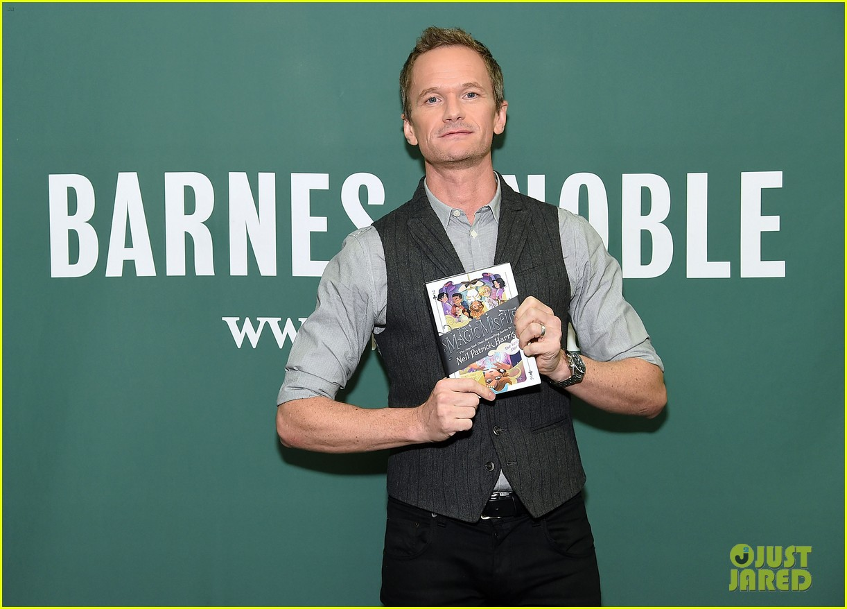 neil patrick harris steps out to promote his new childrens book in nyc 054153763