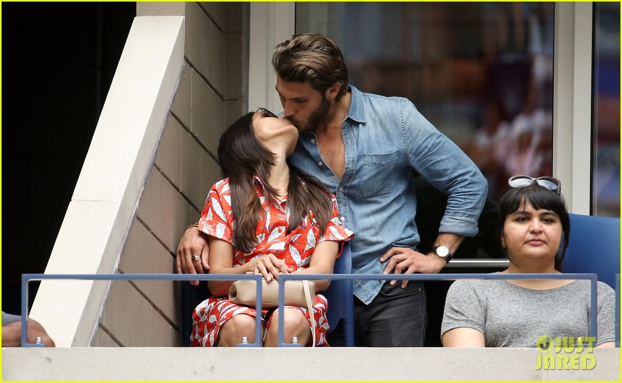 Freida Pinto Kisses Hot New Boyfriend Cory Tran at U.S ...