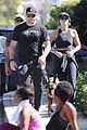 chris pratt katherine schwarzenegger workout 09
