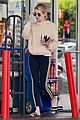 emma roberts fuels up on coffee in beverly hills 01