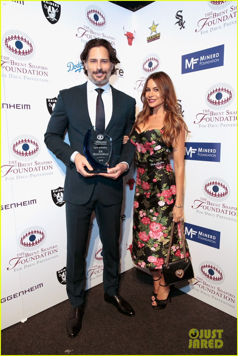 sofia vergara joe manganiello spirit of sobriety award 144141448