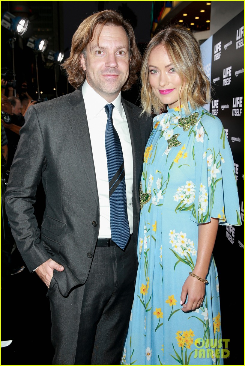 olivia wilde jason sudeikis at life itself premiere 134146618