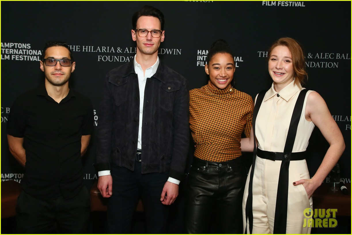 amandla stenberg joins kayli carter cory michael smith for breakthrough talk 144160335