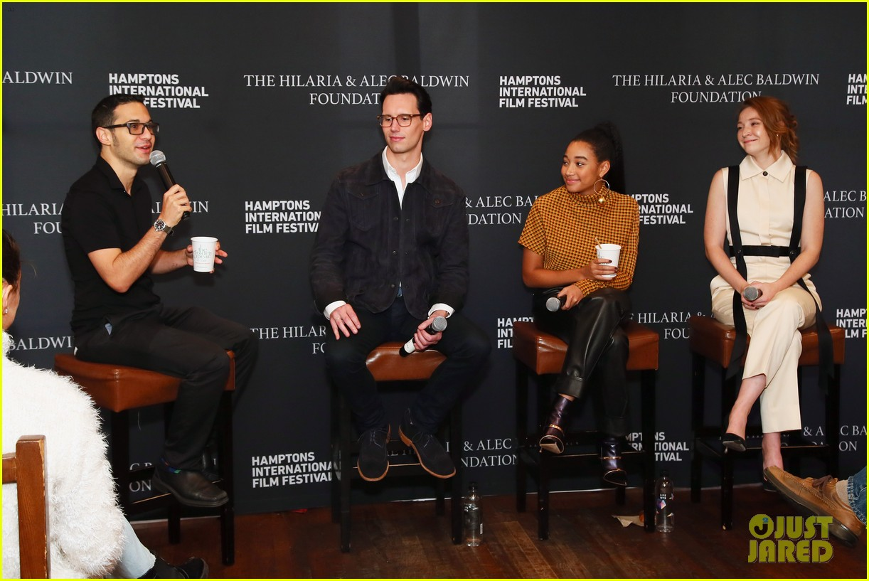 amandla stenberg joins kayli carter cory michael smith for breakthrough talk 154160336