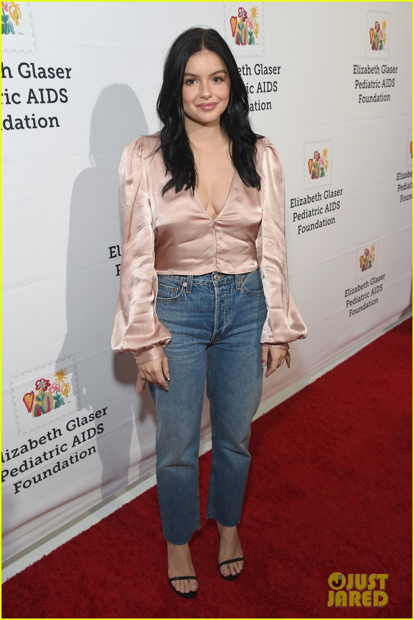 ariel winter levi meaden couple up for a time for heros festival 314172084
