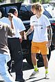 justin bieber hangs out with hailey baldwin after spending afternoon with pastor05