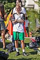 justin bieber goes shirtless playing soccer with friends 18