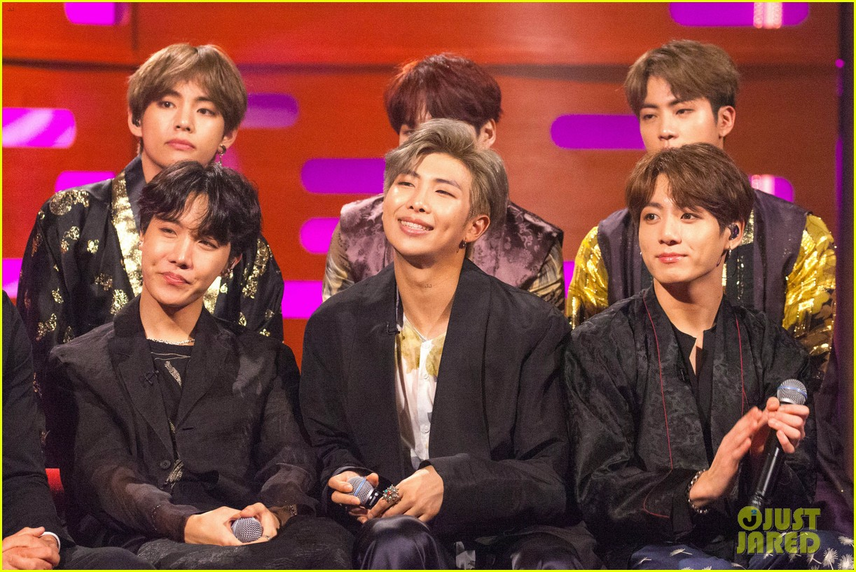 BTS Visit 'Graham Norton Show' as They Announce 'Burn the