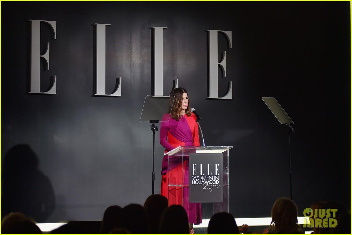 sandra bullock talks her crappy few weeks at elle women in hollywood celebration 134165463