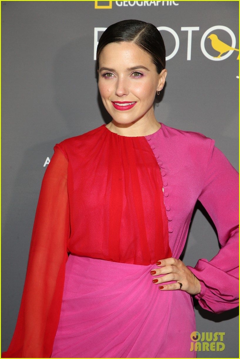sophia bush holland roden support national geographic photo ark exhibit 20