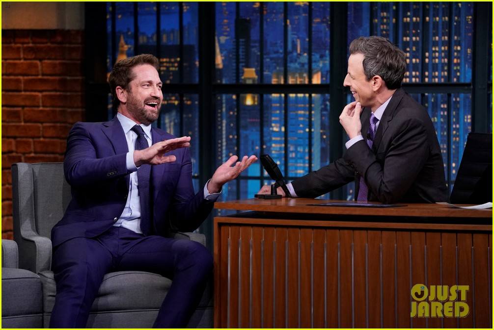gerard butler says he wasnt fully prepared for pentagon press conference 024170721