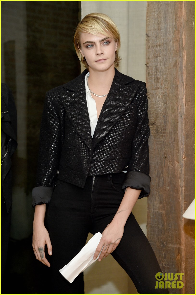 cara delevingne dianna agron through lens event tribeca 034167254