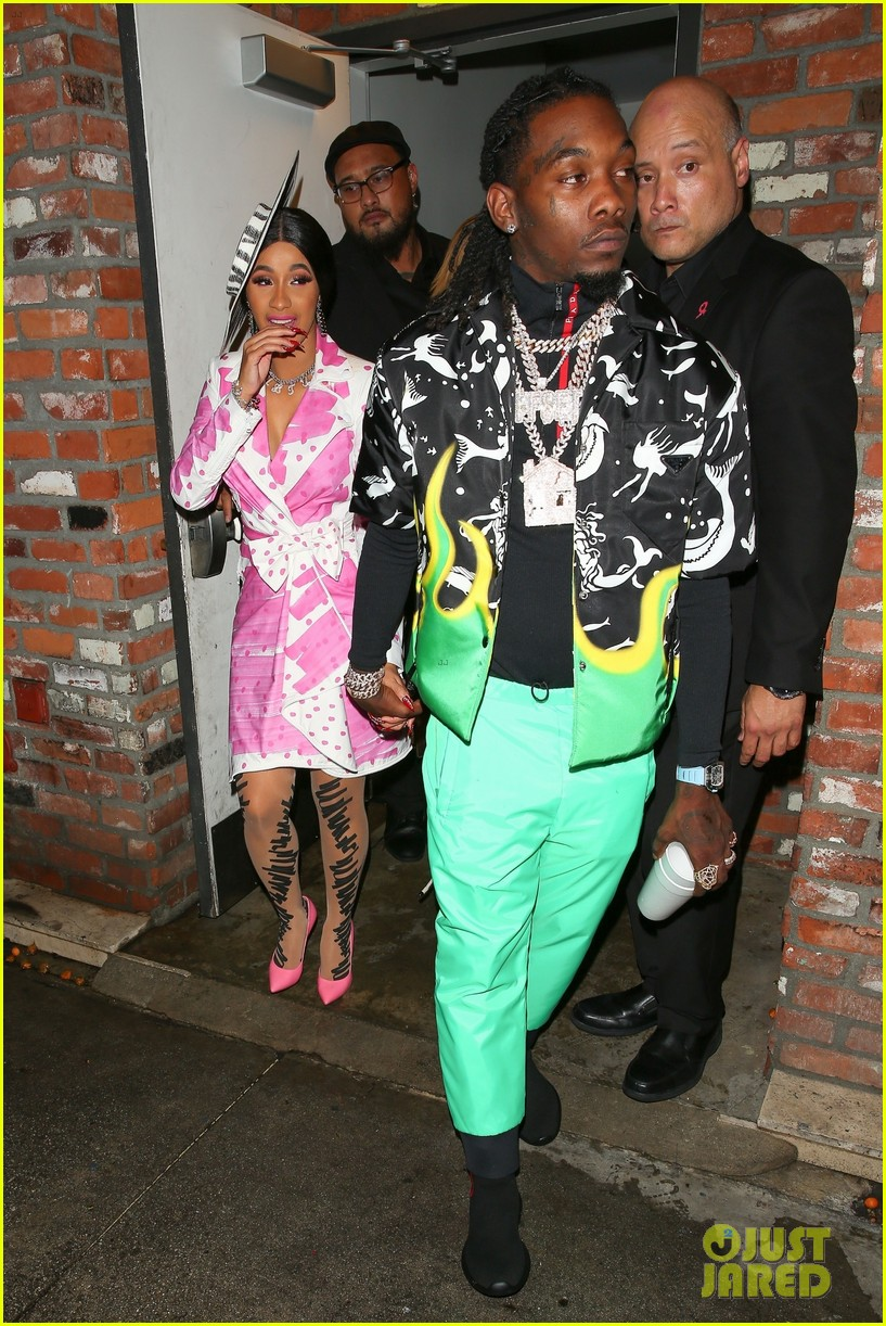 Cardi B Celebrates 26th Birthday At Surprise Party In