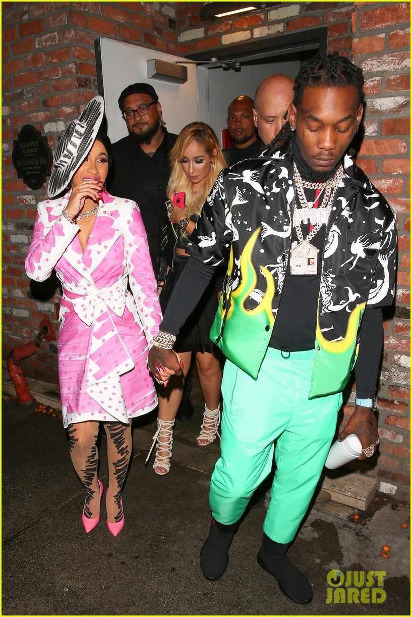 Cardi B Celebrates 26th Birthday At Surprise Party In Hollywood Photo 4164206 Cardi B Offset Pictures Just Jared