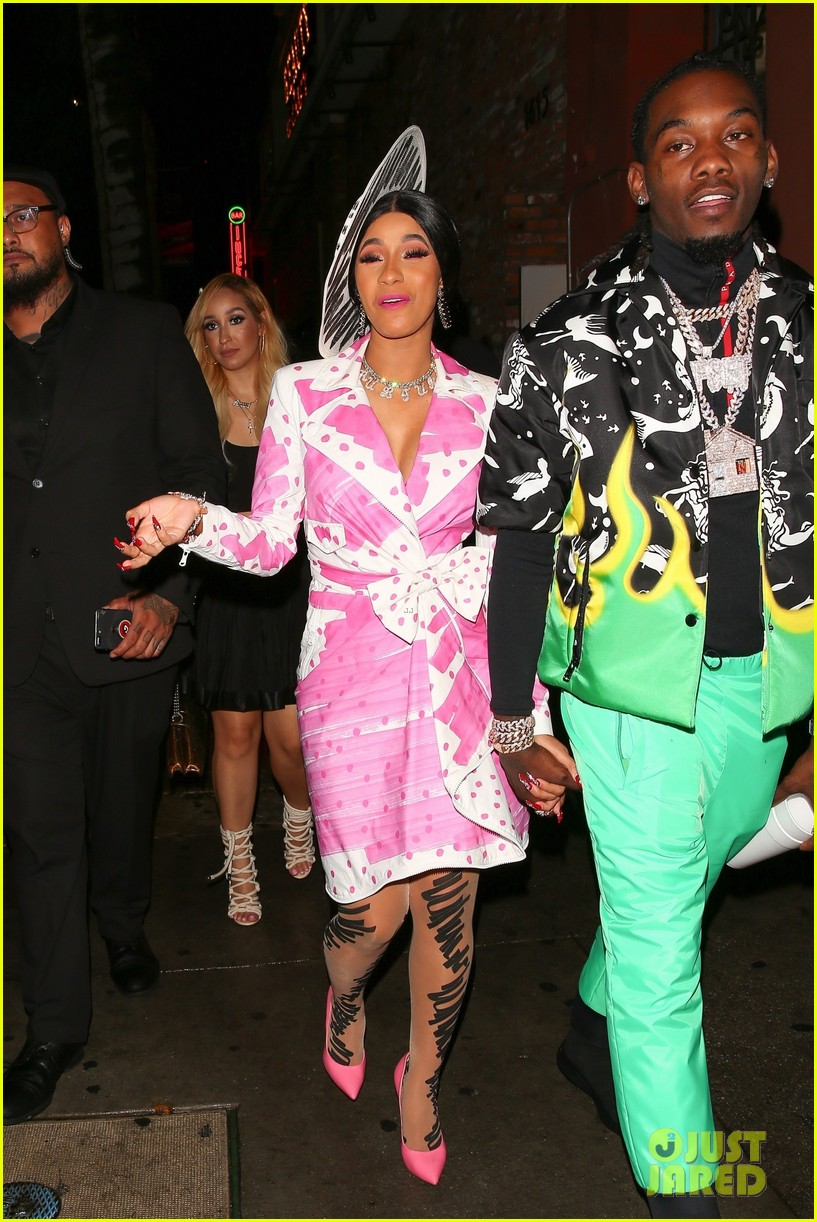 Cardi B Celebrates 26th Birthday At Surprise Party In Hollywood Photo 4164229 Cardi B Offset Pictures Just Jared