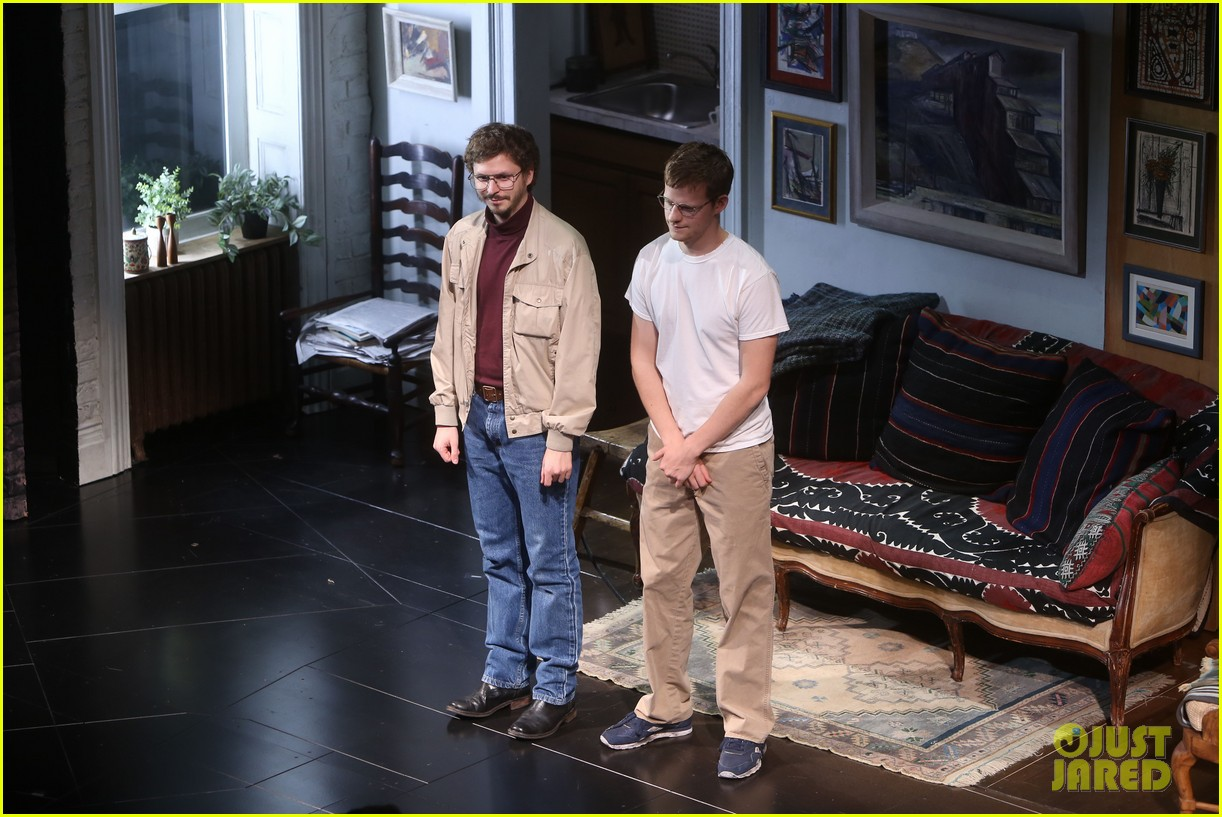 michael cera lucas hedges take a bow at the waverly gallery opening night 024170731