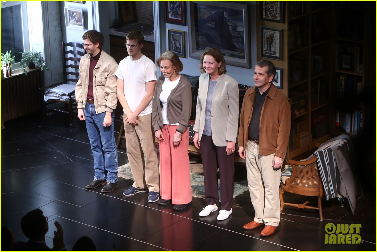 michael cera lucas hedges take a bow at the waverly gallery opening night 034170732