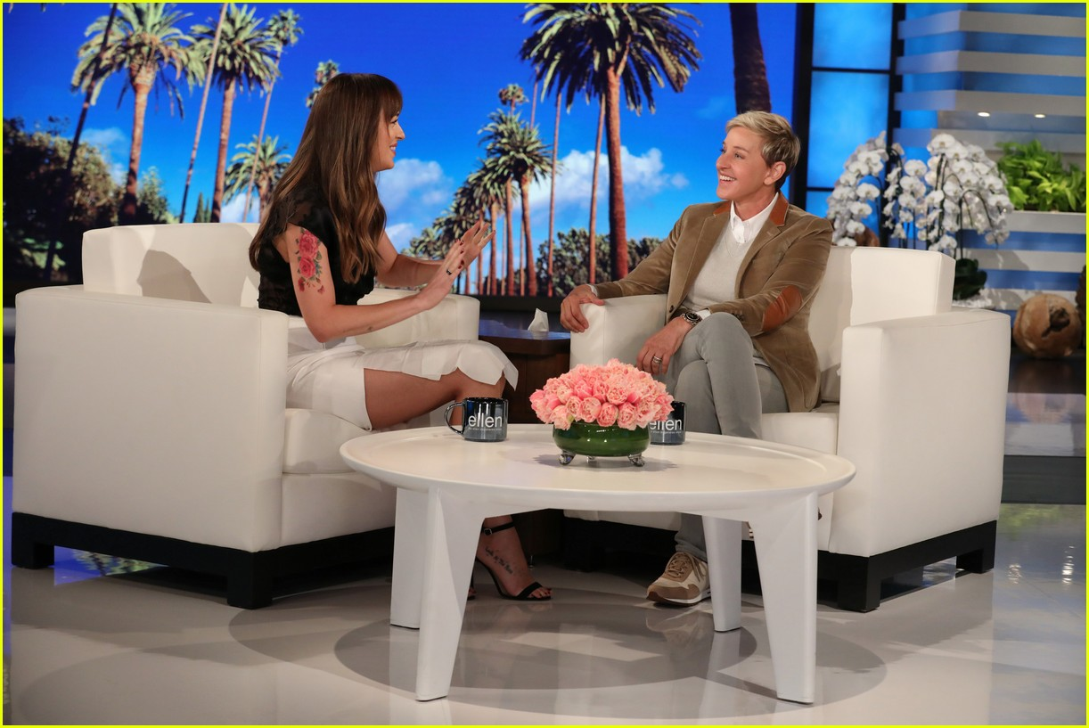 dakota johnson ellen degeneres show 074162857