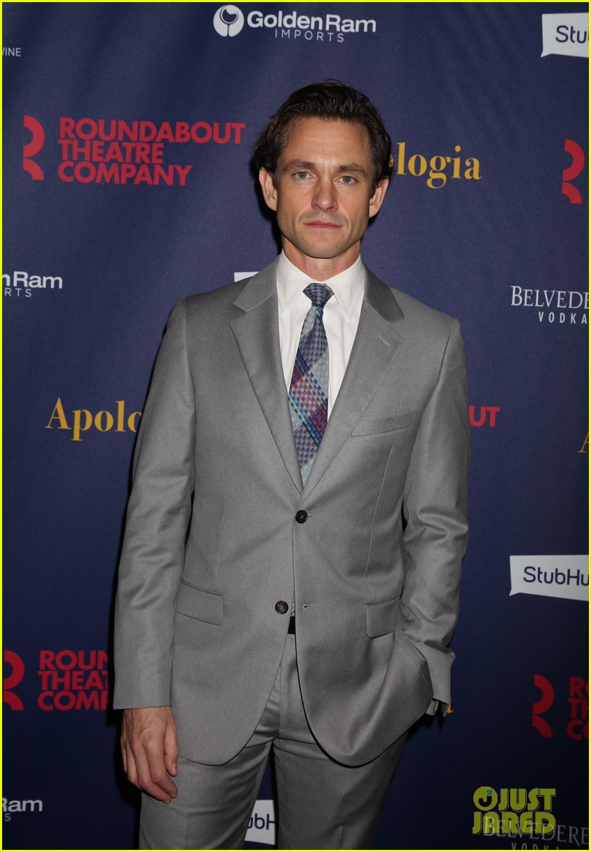 hugh dancy looks so handsome promoting off broadway show apologia 09