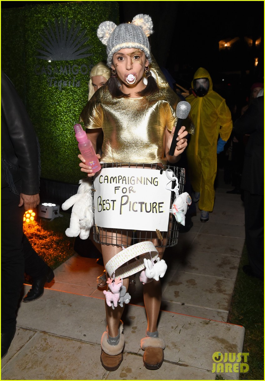 nina dobrev, noah centineo, & ross butler get in costume for