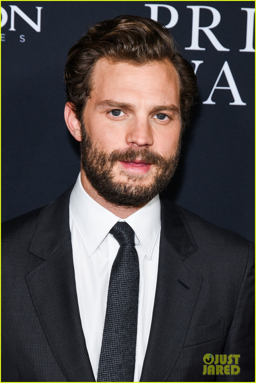 jamie dornan rosamund pike step out for a private war los angeles premiere 234170250