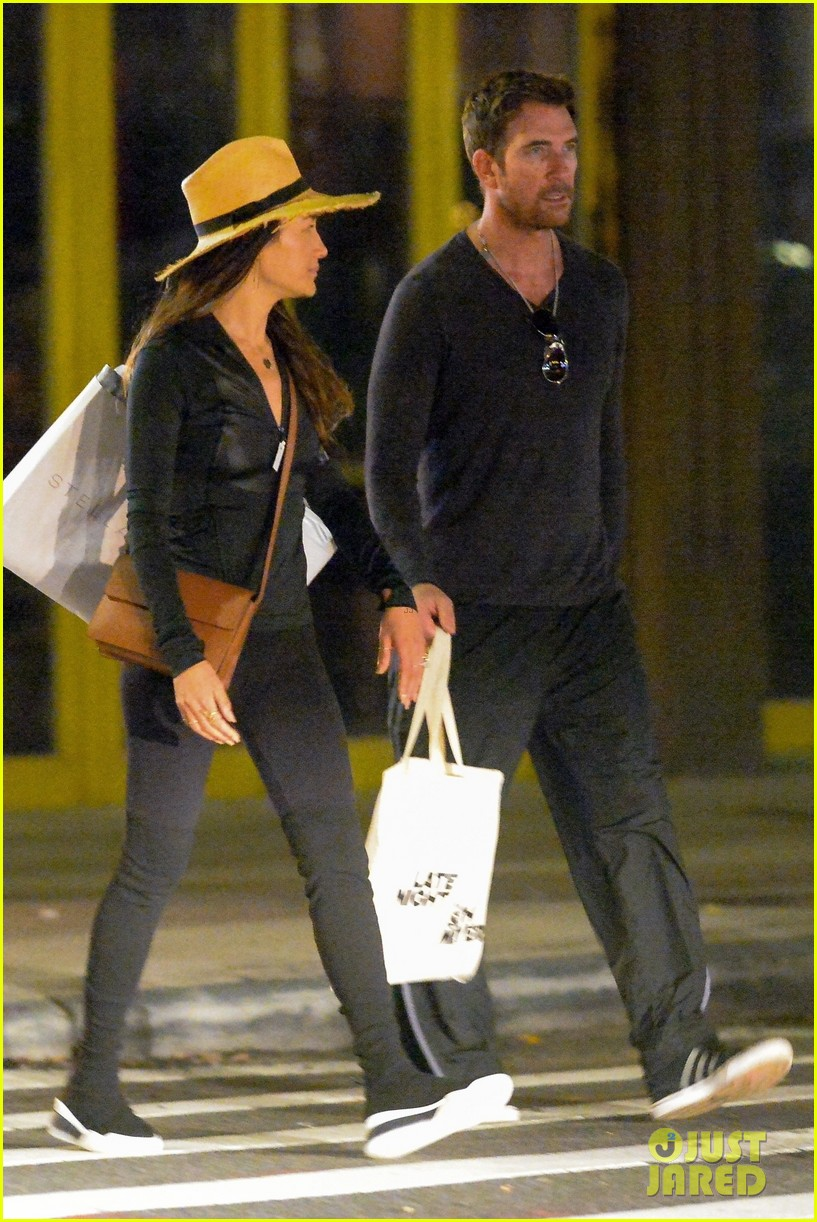 dylan mcdermott maggie q step out for late night shopping in nyc 04