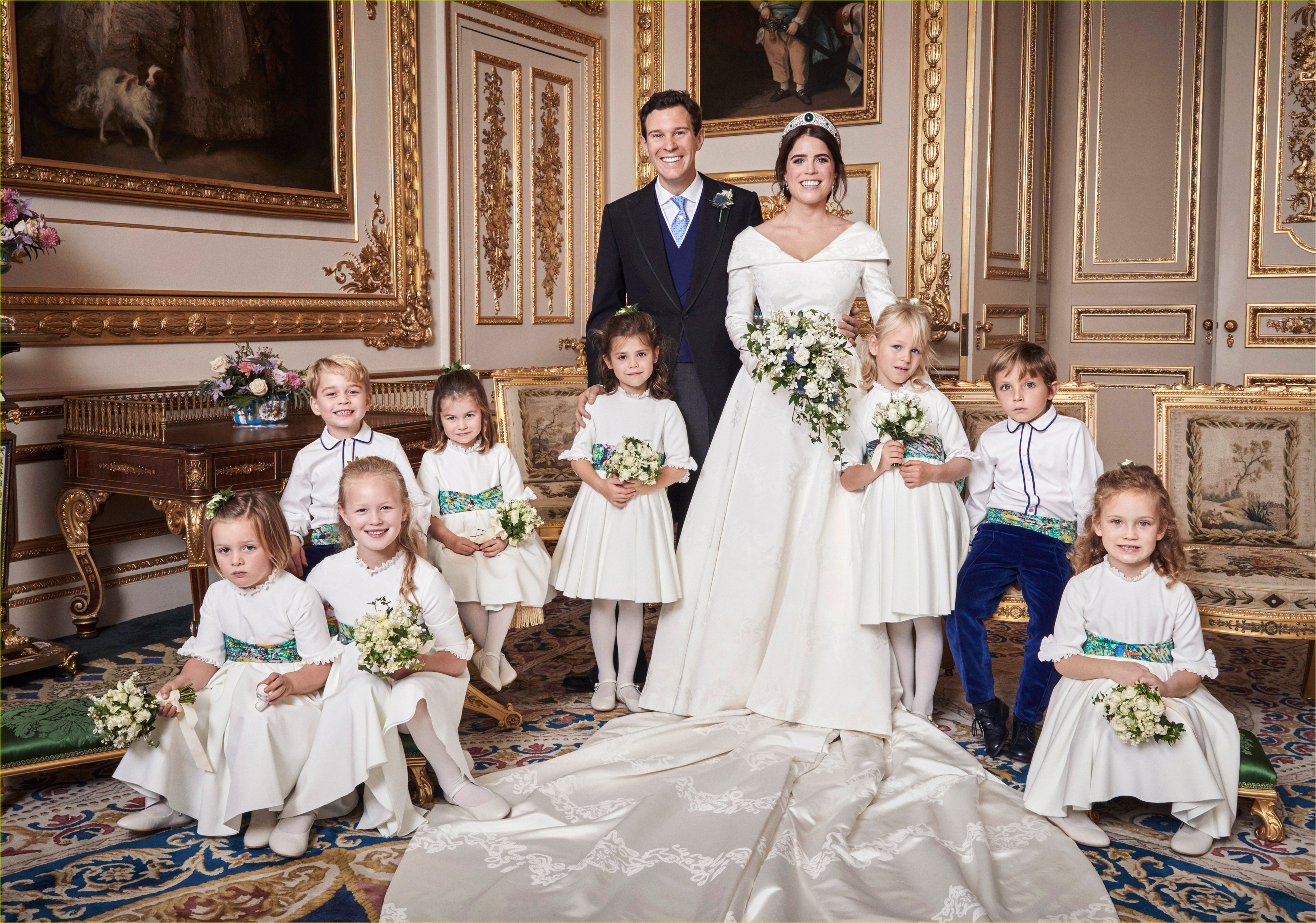 princess eugenie jack brooksbank official wedding portraits revealed 014164375