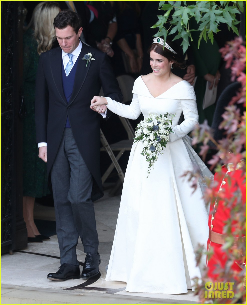 Weddings Pictures Gallery: Princess Eugenie & Jack Brooksbank Are Married