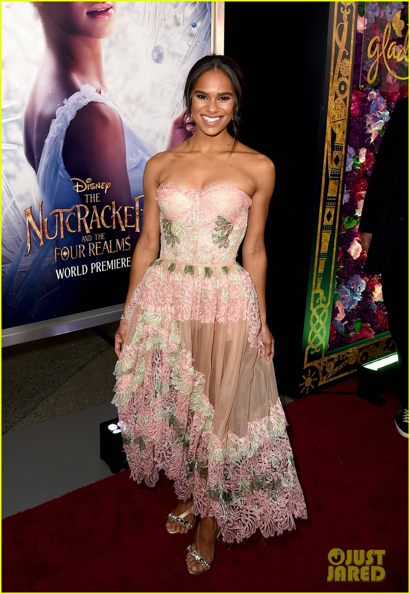 mackenzie foy and misty copeland are fresh in floral at nutcracker premiere 06
