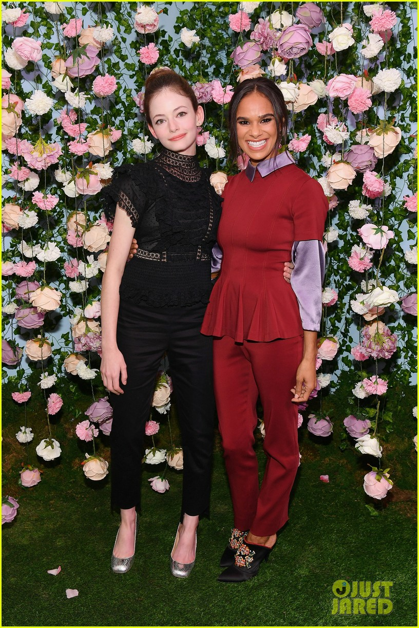 mackenzie foy and misty copeland journey into nutcracker and the four realms at nyc pop up054168853
