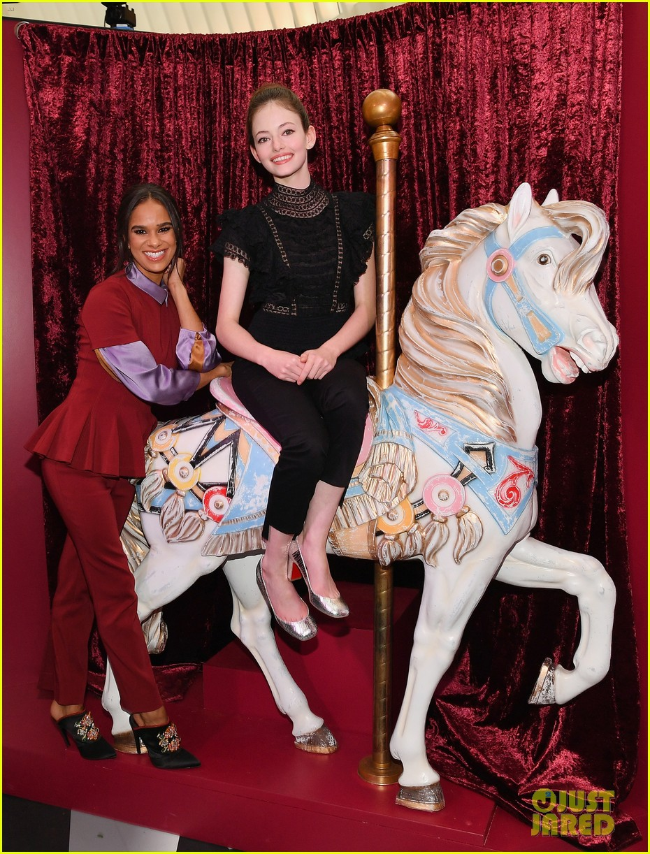 mackenzie foy and misty copeland journey into nutcracker and the four realms at nyc pop up13