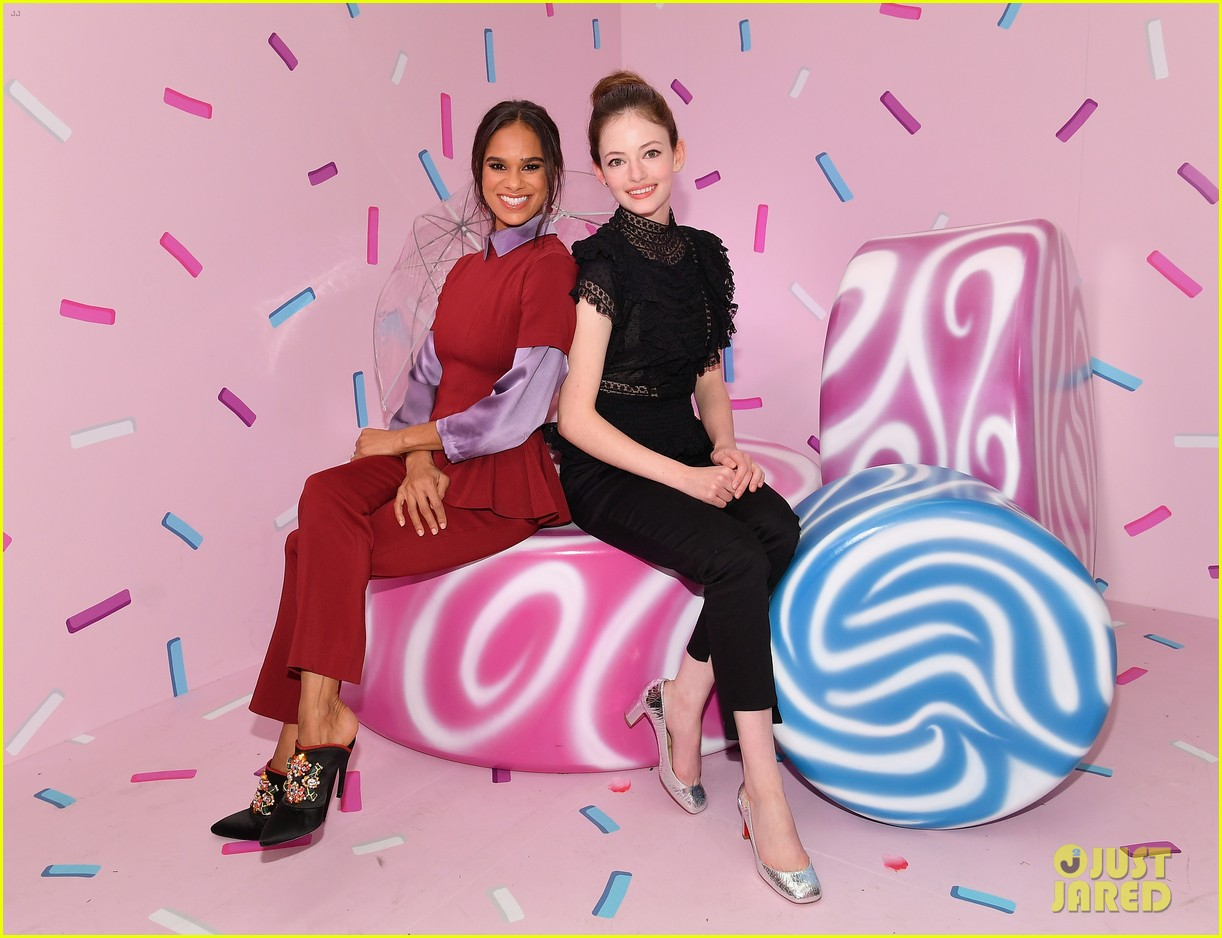 mackenzie foy and misty copeland journey into nutcracker and the four realms at nyc pop up17