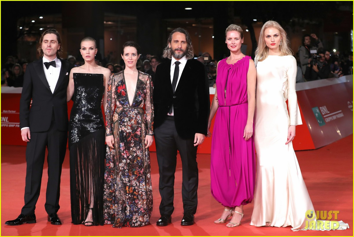 claire foy sylvia hoeks hit red carpet the girl in the spiders web at rome film fest 034170259