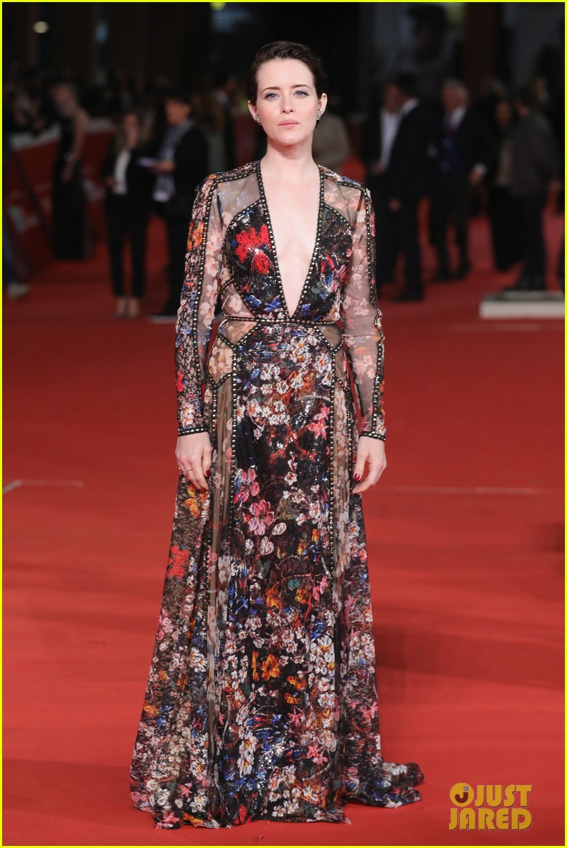 claire foy sylvia hoeks hit red carpet the girl in the spiders web at rome film fest 044170260