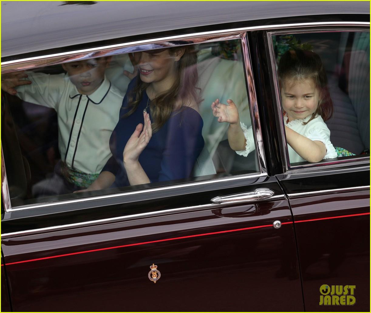 prince george princess charlotte royal wedding 034163450