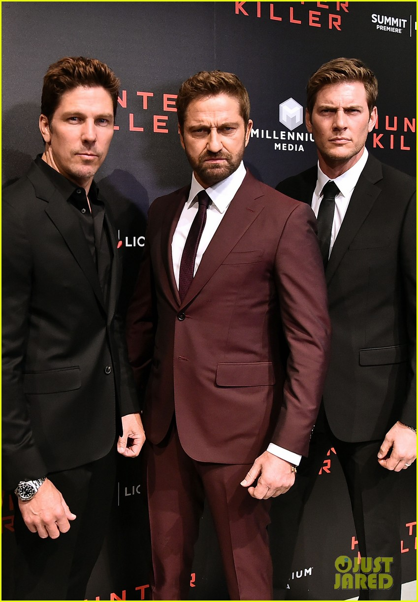 gerard butler hunter killer premiere nyc 014168874