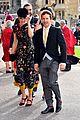 ellie goulding fiance caspar jopling couple up at princess eugenies wedding 24